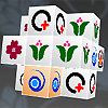 3D Mahjongg (Spanish) game