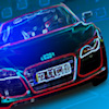 Play 3D Neon Racing game!