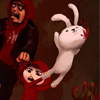 Play Bunnies and Zombies game!