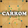 Play Carrom Multi game!
