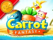 Play Carrot Fantasy game!
