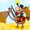 Play Cowboy Sheriff Jigsaw game!