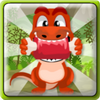Play Dino Eat Meat game!