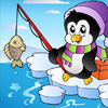 Fishing Penguin Jigsaw game