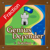 Play Genius Defender Fraction game!