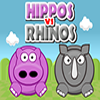 Play Hippos vs Rhinos game!