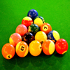 Pool Balls Jigsaw game