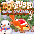 Play Nut Rush 3 - Snow Scramble game!
