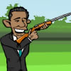 Obama Skeet Shooting game