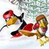 Play Penguin vs Yeti game!