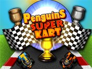 Play Penguins Super Kart game!