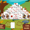 Pyramide Solitaire : Farm Edition game