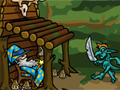 Play Retired Wizard Defense game!