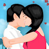 Play Romantic Kissing game!