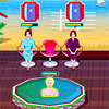 Play Sandy At The Spa game!