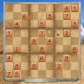 Play Beach Sudoku game!