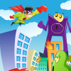 Play Superhero Difference game!