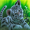 Play Tiny leopard Puzzle game!