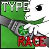 Type Race game