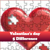 Play Valentine's day 5 Difference game!