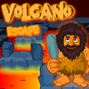 Volcano Escape game