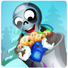 Play Zombie Launcher Winter Season game!