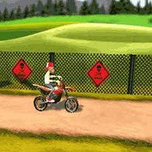 Play Angry Biker game!