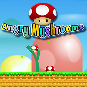 Play Angry Mushrooms game!