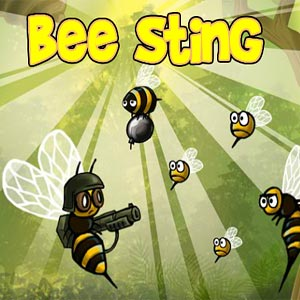 Play Bee Sting game!