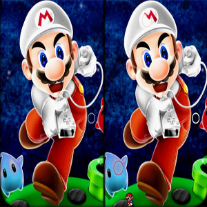 Mario Differences game