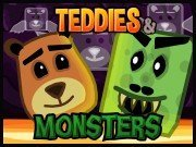 Play Teddies & Monsters game!