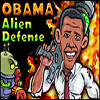 Play Obama Alien Defense game!