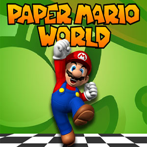 Play Paper Mario World game!