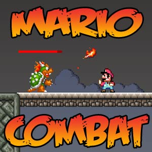 Play Super Mario Combat game!