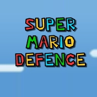 Play Super Mario Defence game!