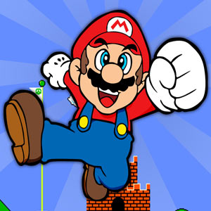 Super Mario Flash 2 game