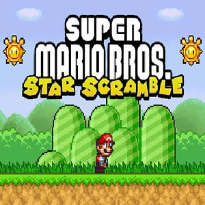 Super Mario: Star Scramble game
