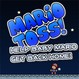 Super Mario Toss! game