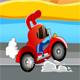 Rabbit Drag Racing game