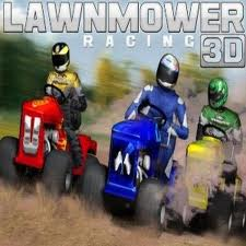 Lawnmover Racing 3D game