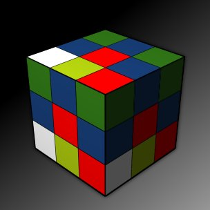 Rubic Cube 3D game