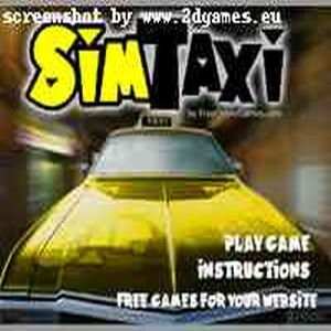 Play Sim Taxi game!