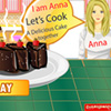 Play Anna Chocolate Cake game!