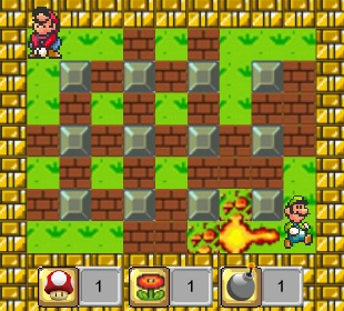 Play Super Mario Bomber game!