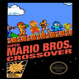 Super Mario Crossover game